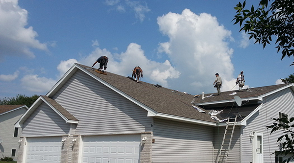 Minnesota home roofing services